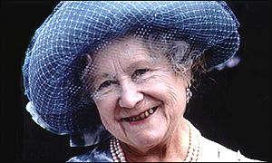 A rainha-mãe, que morreu aos 101 anos