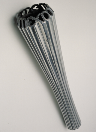 Photo: The torch design for the 1968 Summer Olympic Games