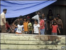 Nearly 260 migrants were intercepted in Indonesia on their way to Australia