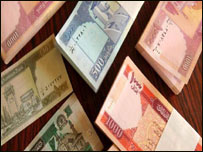 عکسهای پول افغانی