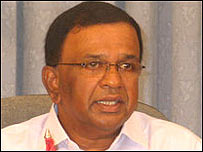 LTTE political wing head, B Nadesan