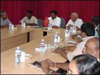 TNA leaders meeting with LTTE