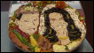 Pizza especial comemora o casamento de William e Kate. | Foto: BBC