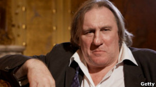 Gérard Depardieu. Getty