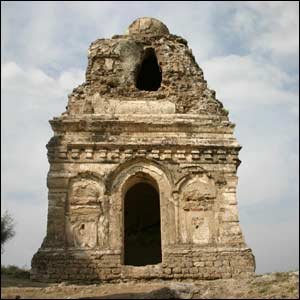 The temple ruins at Katas