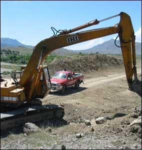 تعمیراتی مشینری