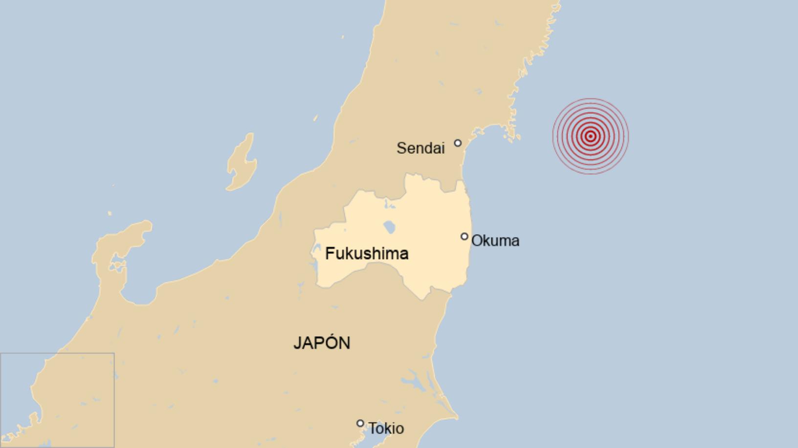 Map: Japón