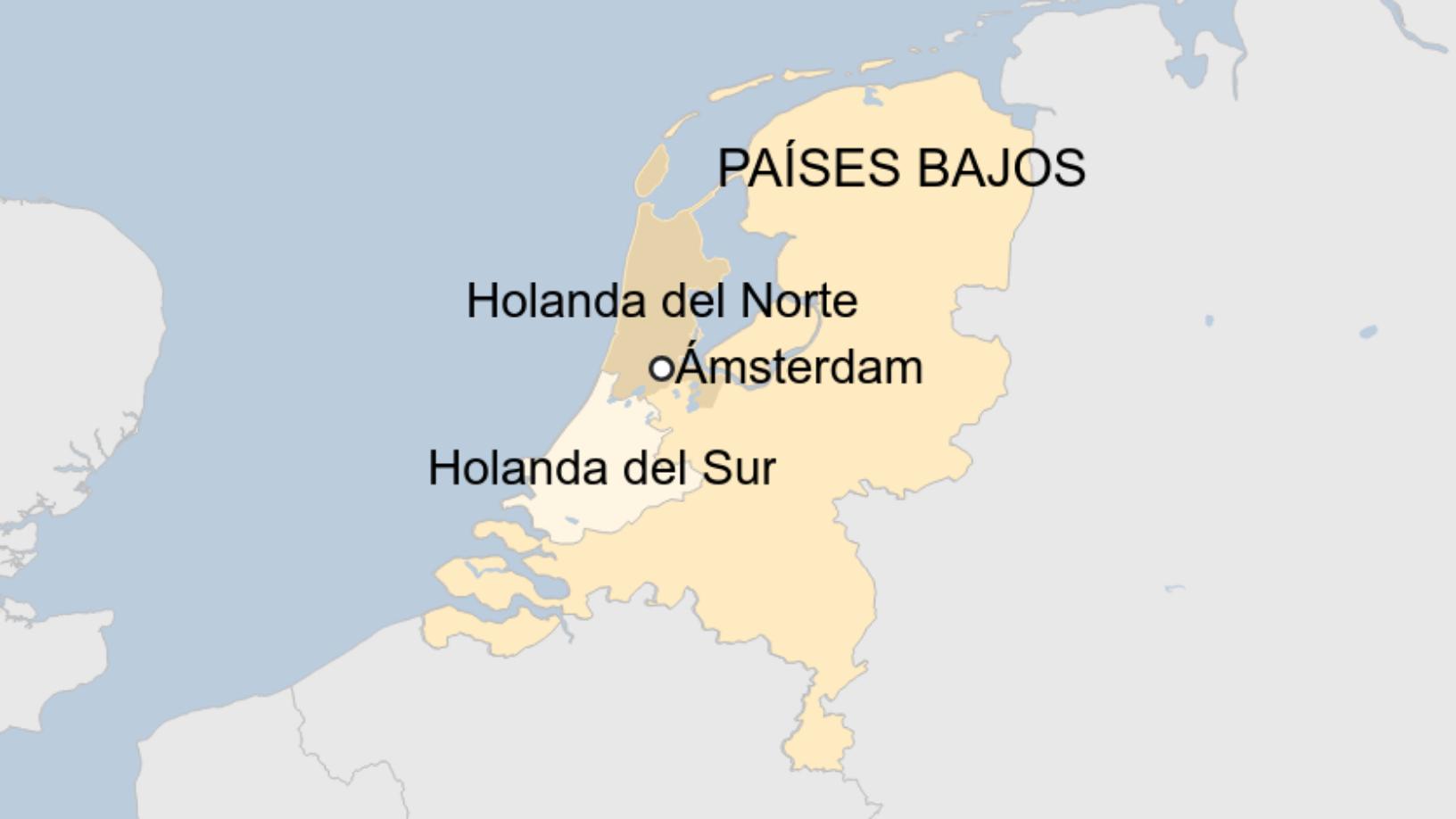 Países Bajos, no Holanda. 816
