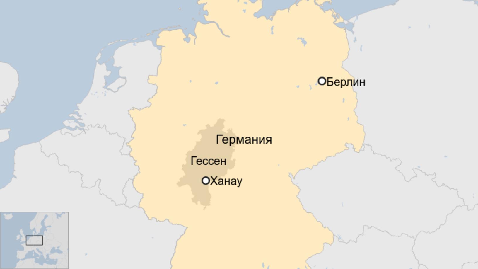 Map: Германия